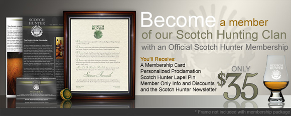 Scotch Hunter Membership